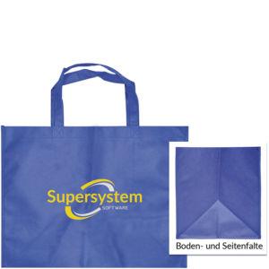 PP-Non-Woven-Tasche mit Boden- und Seitenfalte