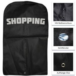 PP-Non-Woven-Kleidersack mit Reißverschluss und Sichtfenster