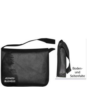 Foto-Transferdruck auf PP-Non-Woven-Tasche mit Umhängeschlaufe