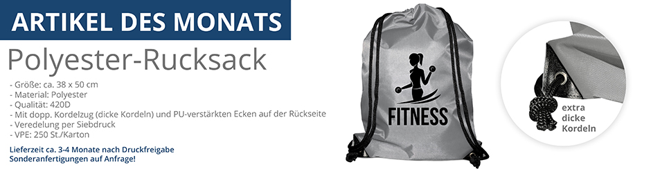 Polyester-Rucksack